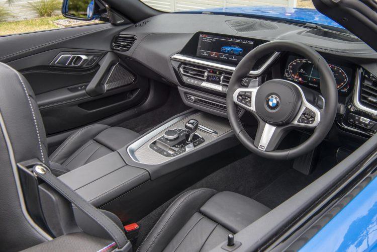2019 BMW Z4 M40i-interior
