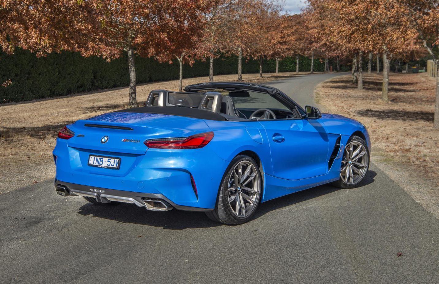 2019 Bmw Z4 Lands In Australia Topped By M40i Performancedrive