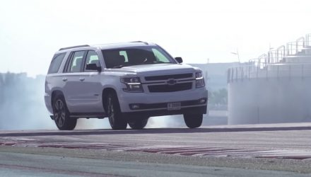 Video: 2019 Chevrolet Tahoe RST drifting is both hilarious and beautiful