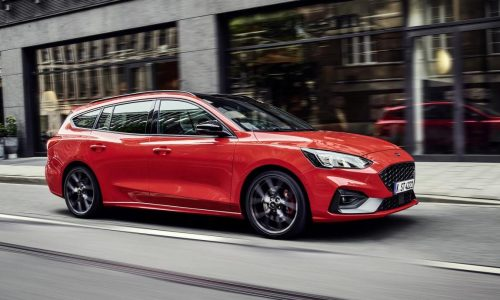 2019 Ford Focus ST wagon revealed