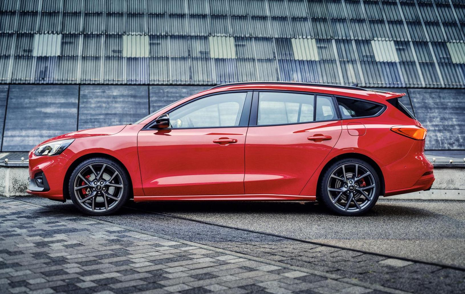 2019 Ford Focus St Wagon Revealed Performancedrive
