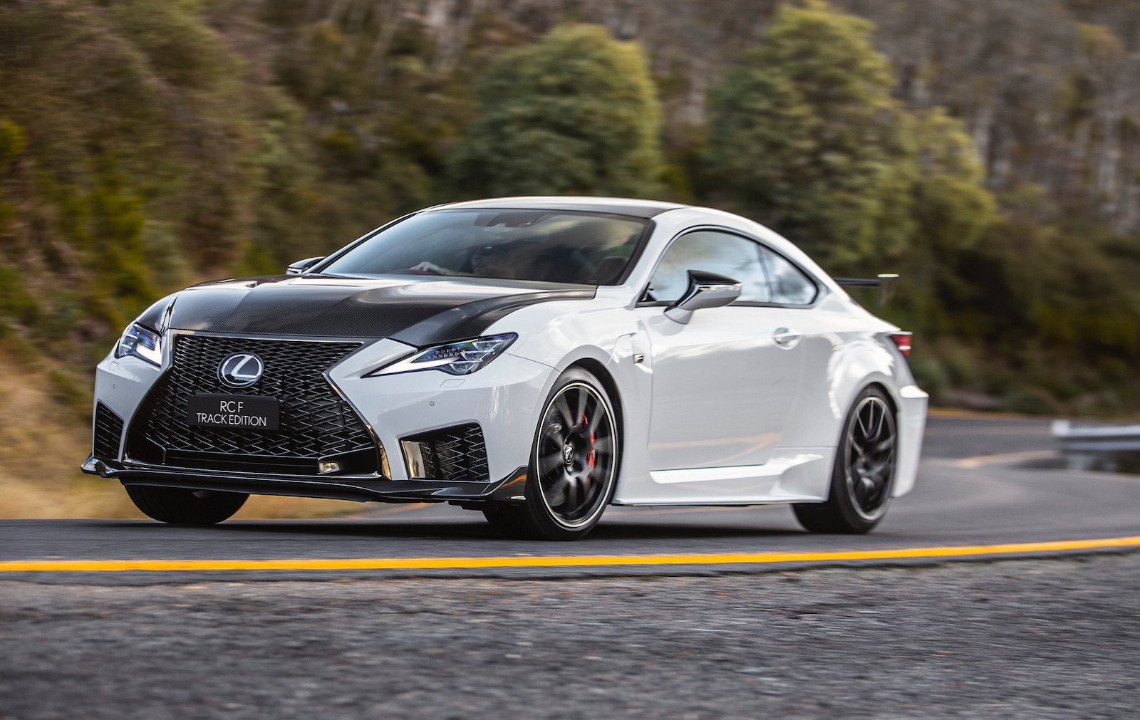 2019 Lexus Rc F Rc F Track Edition Now On Sale In