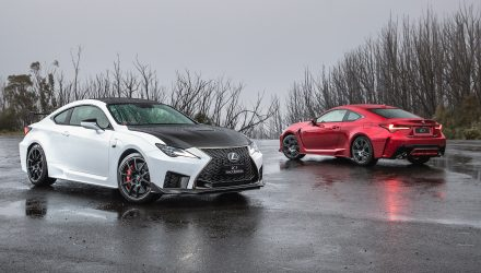 2019 Lexus RC F, RC F Track Edition now on sale in Australia