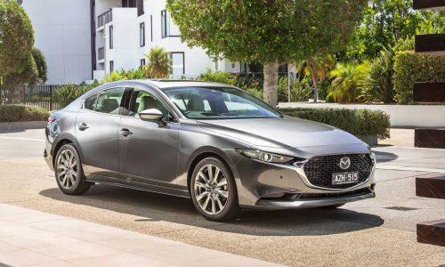 2019 Mazda3 sedan now on sale in Australia