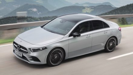 2019 Mercedes-Benz A-Class sedan now on sale in Australia