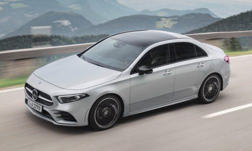 2019 Mercedes-Benz A-Class sedan now on sale in Australia