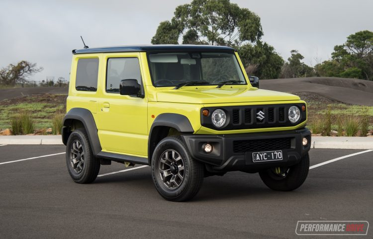 Suzuki Jimny Kinetic Yellow