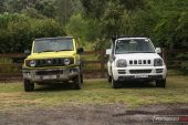 Suzuki Jimny and old model