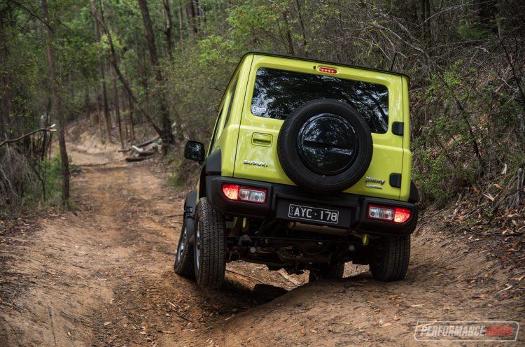Suzuki Jimny articulation