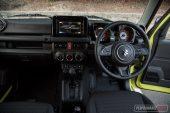 Suzuki Jimny auto dash