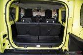 Suzuki Jimny boot