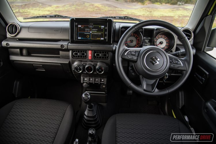 Suzuki Jimny manual dash