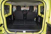 Suzuki Jimny max boot space