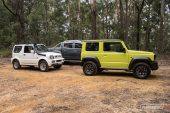 Suzuki Jimny new and old