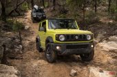 Suzuki Jimny off road test