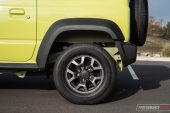 Suzuki Jimny rear overhang