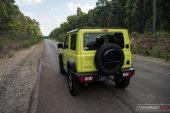 Suzuki Jimny road