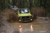 Suzuki Jimny water splash