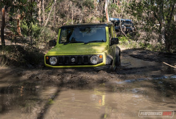 Suzuki Jimny water wade