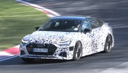 2020 Audi RS 7 Sportback spotted, sounds muscly (video)