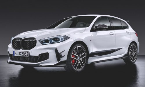 2020 BMW 1 Series showcased with full M Performance parts