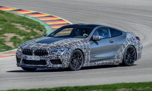 BMW M8 Competition confirmed, AWD and RWD modes (video)