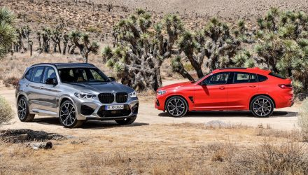 BMW X3 M Competition & X4 M Competition on sale in Australia in August