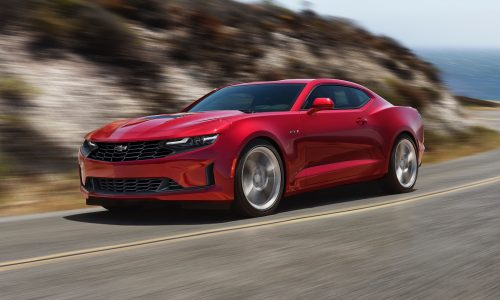 2020 Chevrolet Camaro facelift gets nicer front end design