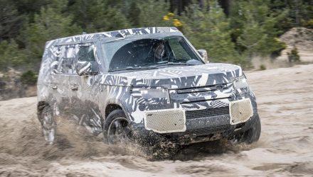 2020 Land Rover Defender testing surpasses 1.2 million km