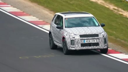2020 Land Rover Discovery Sport spotted, hybrid power? (video)
