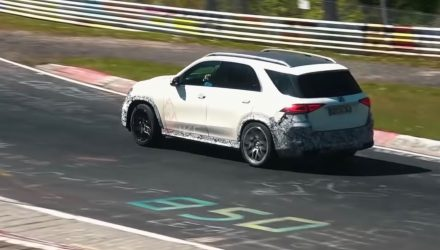 2020 Mercedes-AMG GLE 63 spotted at Nurburgring, sounds meaty (video)