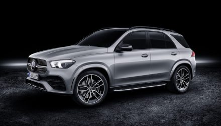 Mercedes-Benz GLE 580 revealed, 48V mild hybrid V8 power