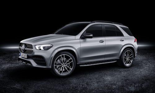 Mercedes-Benz GLE 580 revealed, 48V mild hybrid V8 power