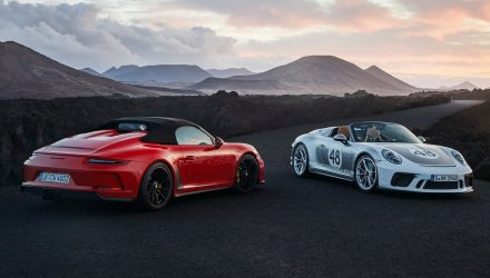 2020 Porsche 911 Speedster now on sale in Australia
