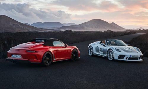 2020 Porsche 911 Speedster now on sale in Australia