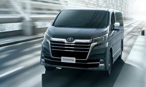 2020 Toyota Granvia replaces Tarago at end of year