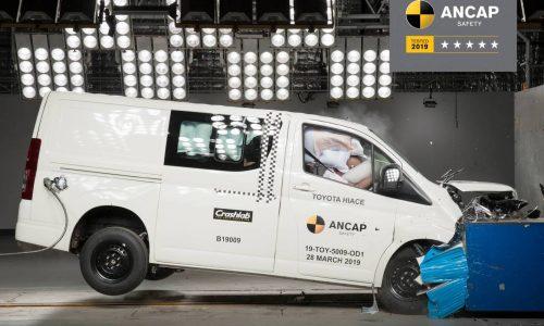 2020 Toyota HiAce scores 5-star ANCAP, Jeep Wrangler gets 1 star