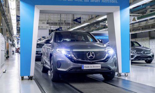 Mercedes-Benz EQC production commences in Germany