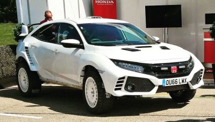 Ralph Hosier Engineering creates Honda Civic Type R rally car