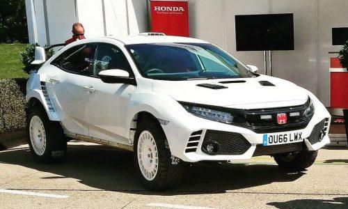 Ralph Hosier Engineering creates Honda Civic Type R rally car