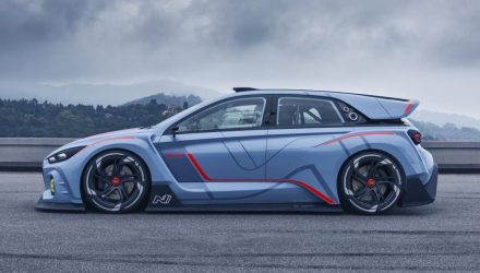 Rimac co-developing Hyundai N electric sports car