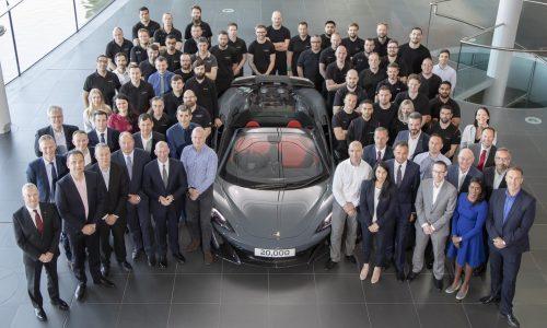McLaren production hits 20,000-unit milestone