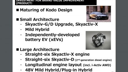 Mazda plans straight-six Skyactiv-X, Skyactiv-D engines