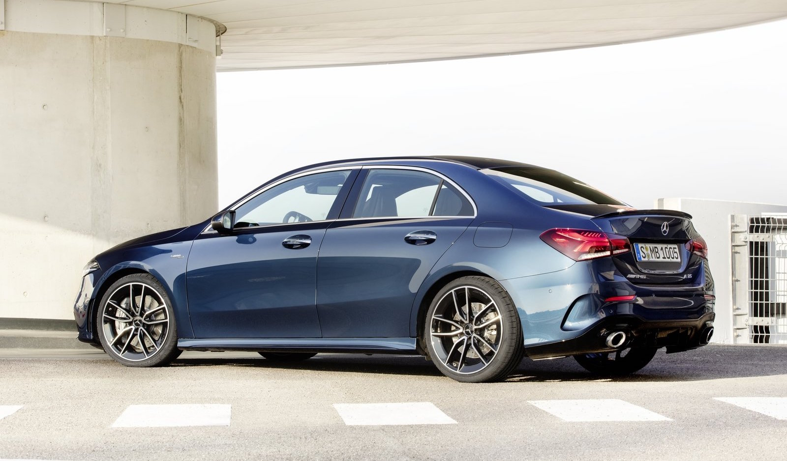 2019 Mercedes Benz A Class Sedan Now On Sale In Australia Performancedrive