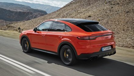 Porsche Cayenne Coupe hybrid coming later this year
