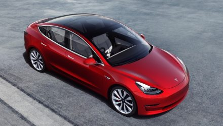 Australian prices for Tesla Model 3 start from AU$66,000