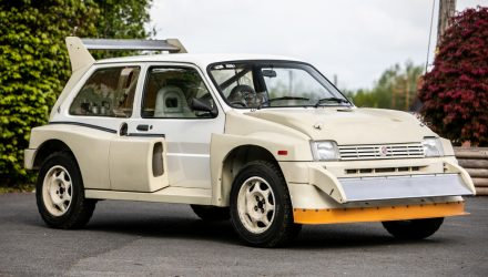 For Sale: MG Metro 6R4 Group B rally car, 11km on odometer