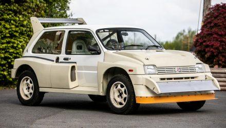For Sale: MG Metro 6R4 Group B rally car, 11km on odometer