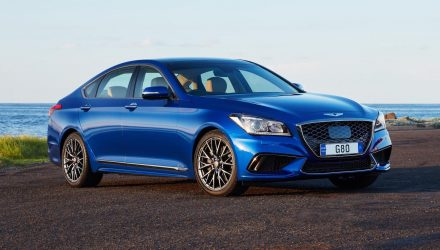 2019 Genesis G80 now on sale in Australia from $68,900
