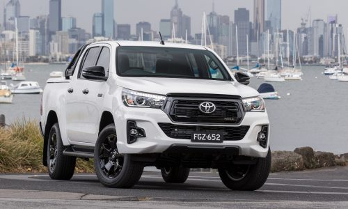 2019 Toyota HiLux updates announced, AEB standard on all variants